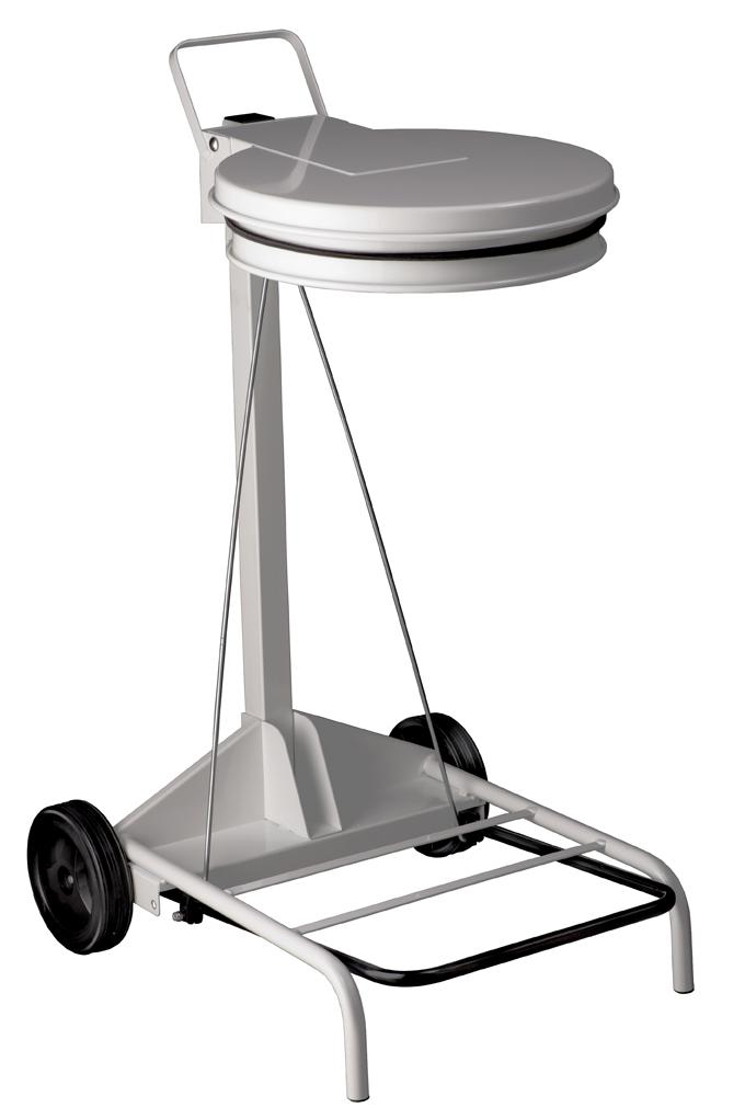 Portasacco Mobile con Coperchio a Pedale