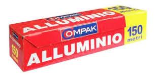 Alluminio in Rotolo per Alimenti mt.150 con Box