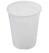 Bicchiere Monouso in Plastica cc.200 pz.100