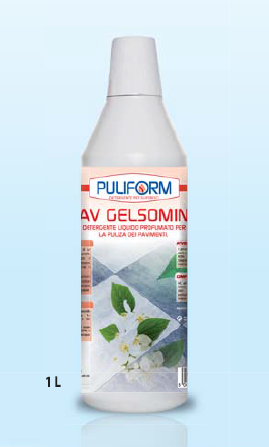 PAV GELSOMINO Detergente Liquido Profumato per la Pulizia dei Pavimenti lt.1
