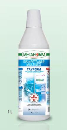 TAYFORM PMC Disinfettante Multiuso lt.1 + 6 Trigger