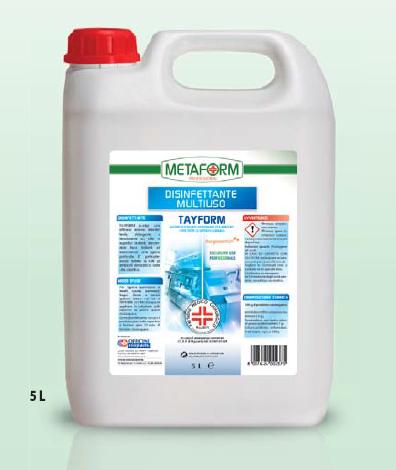 TAYFORM PMC Disinfettante Multiuso lt.5