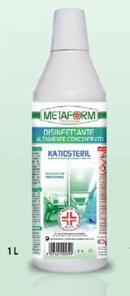 KATIOSTERIL PMC Disinfettante Altamente Concentrato lt.1
