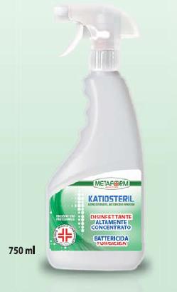 KATIOSTERIL PMC Disinfettante Altamente Concentrato ml.750