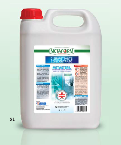 METASTERIL PMC Disinfettante Concentrato lt.5
