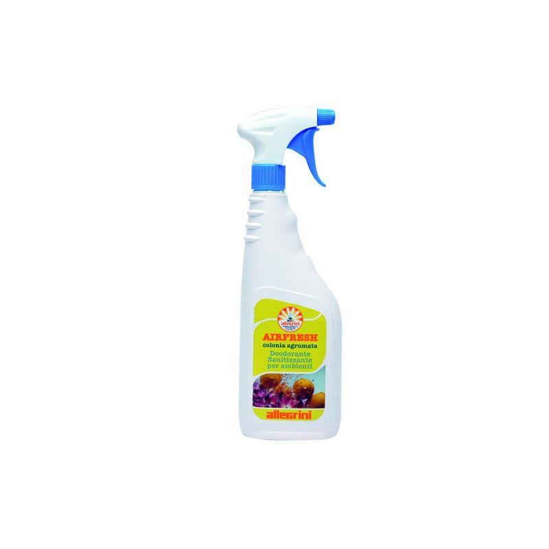 AIRFRESH COLONIA AGRUMATA Deodorante sanitizzante liquido per ambienti a base acquosa 750 ml