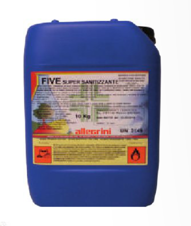 FIVE SUPER SANITIZZANTE PMC 25lt