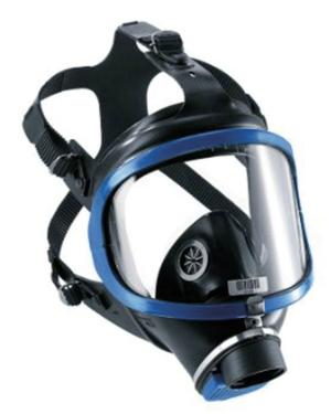 MASCHERA FACCIALE COMPLETA Maschera facciale per la protezione totale delle vie respiratorie e del volto