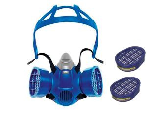SEMIMASCHERA FACCIALE E FILTRI Semimaschera a filtro doppio per la protezione delle vie respiratorie